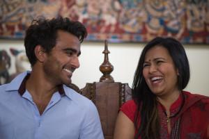 Sid Sawant and Raina Desai